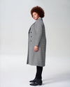 Morgan Coat - Grey PlaidImage #2