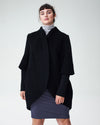 Talfer Cocoon Coat - BlackImage #1