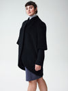 Talfer Cocoon Coat - BlackImage #2