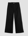 Carrie High Rise Wide Leg Jeans - Black Image Thumbnmail #2