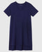 Tesino Washed Jersey Dress - Evening Blue