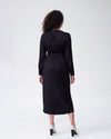 Rivers Wrap Dress - BlackImage #4