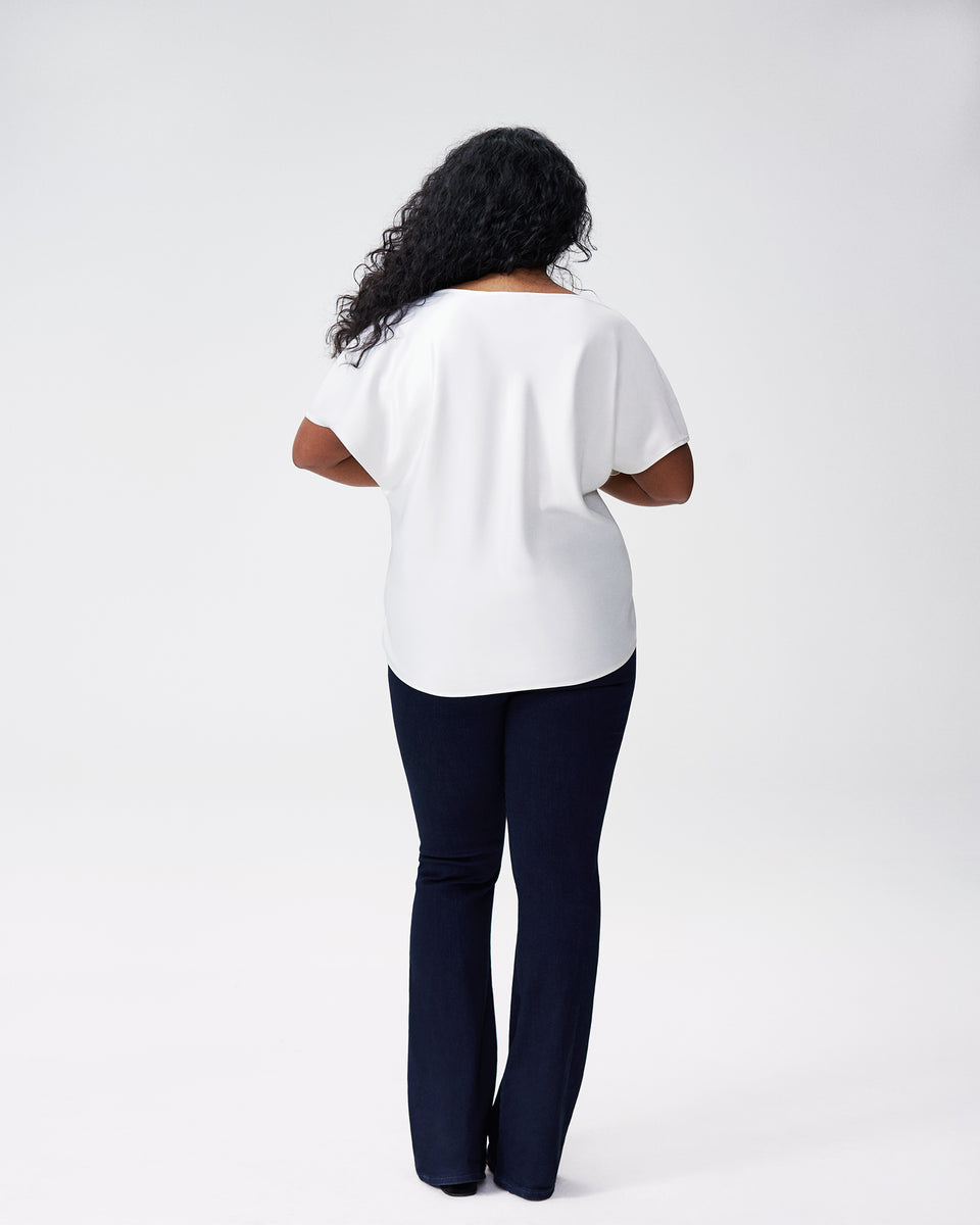 Viva Boatneck Top - White