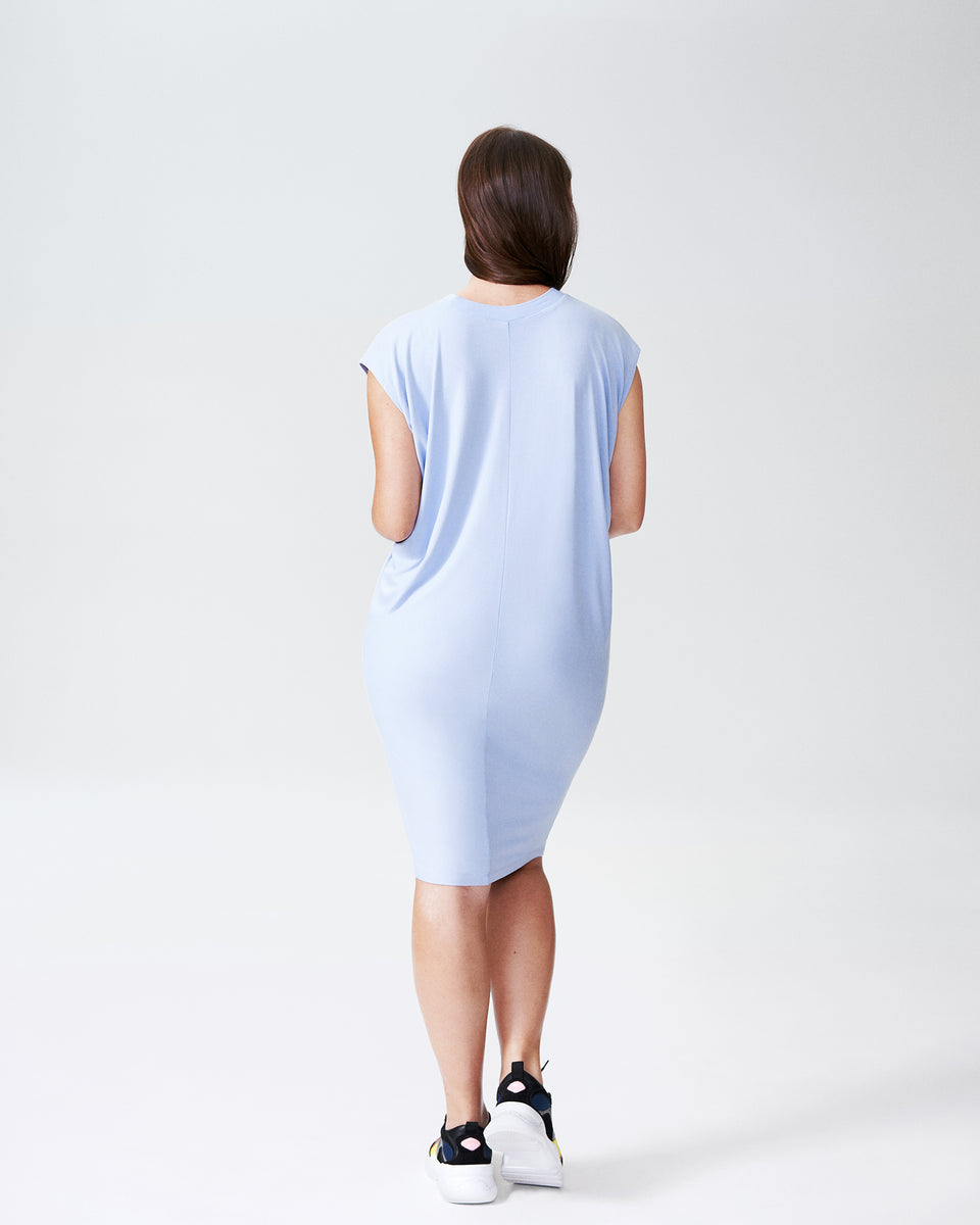 Carrea Relaxed Dress - Periwinkle