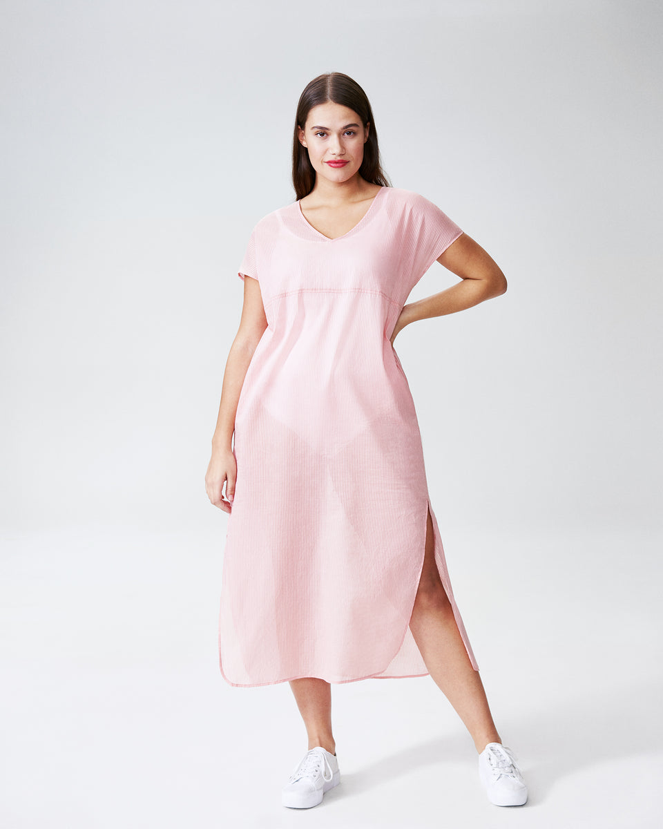 Cole Caftan Dress - Rose