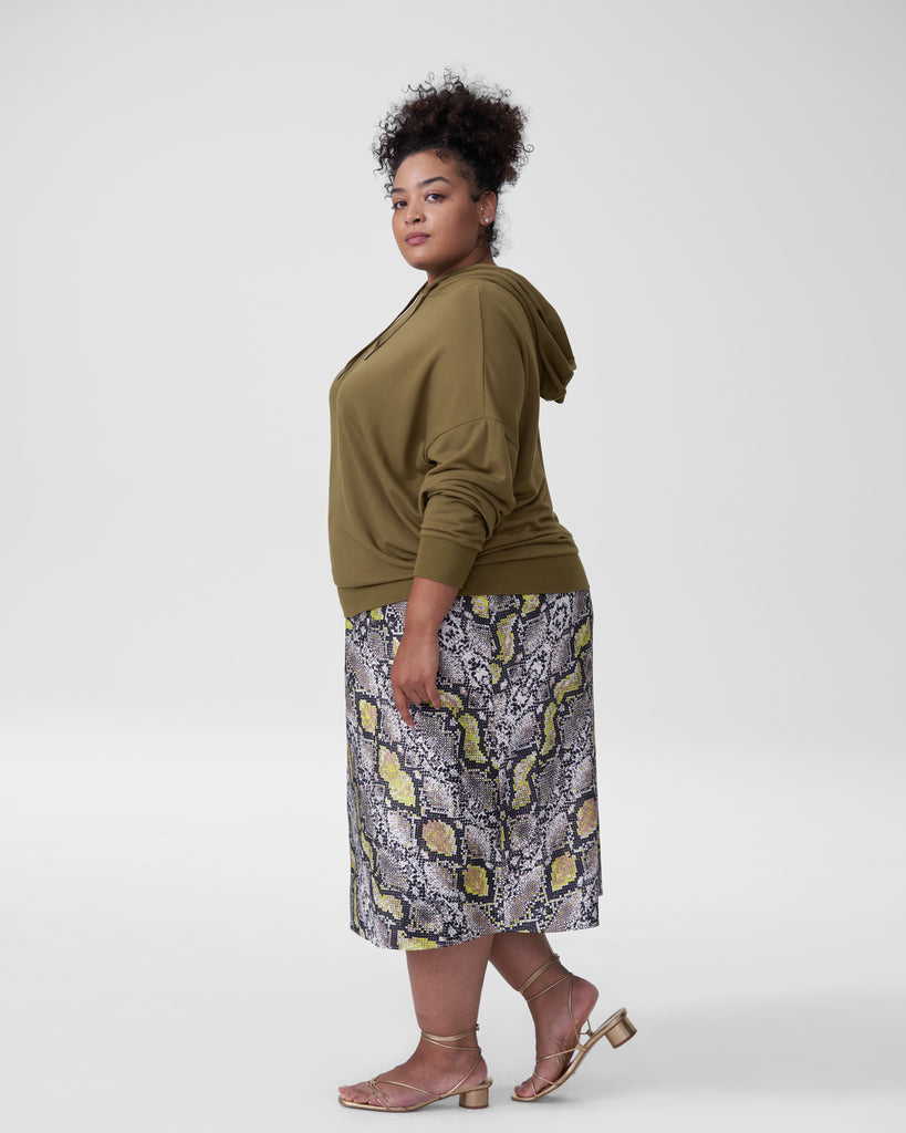Downtown Hoodie Tunic Olive