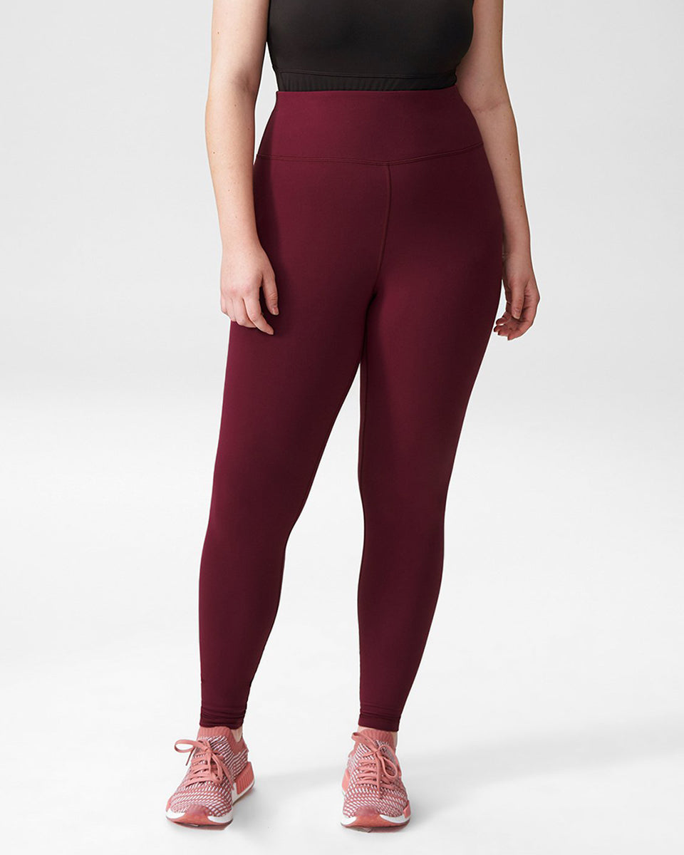 Core Legging - Merlot