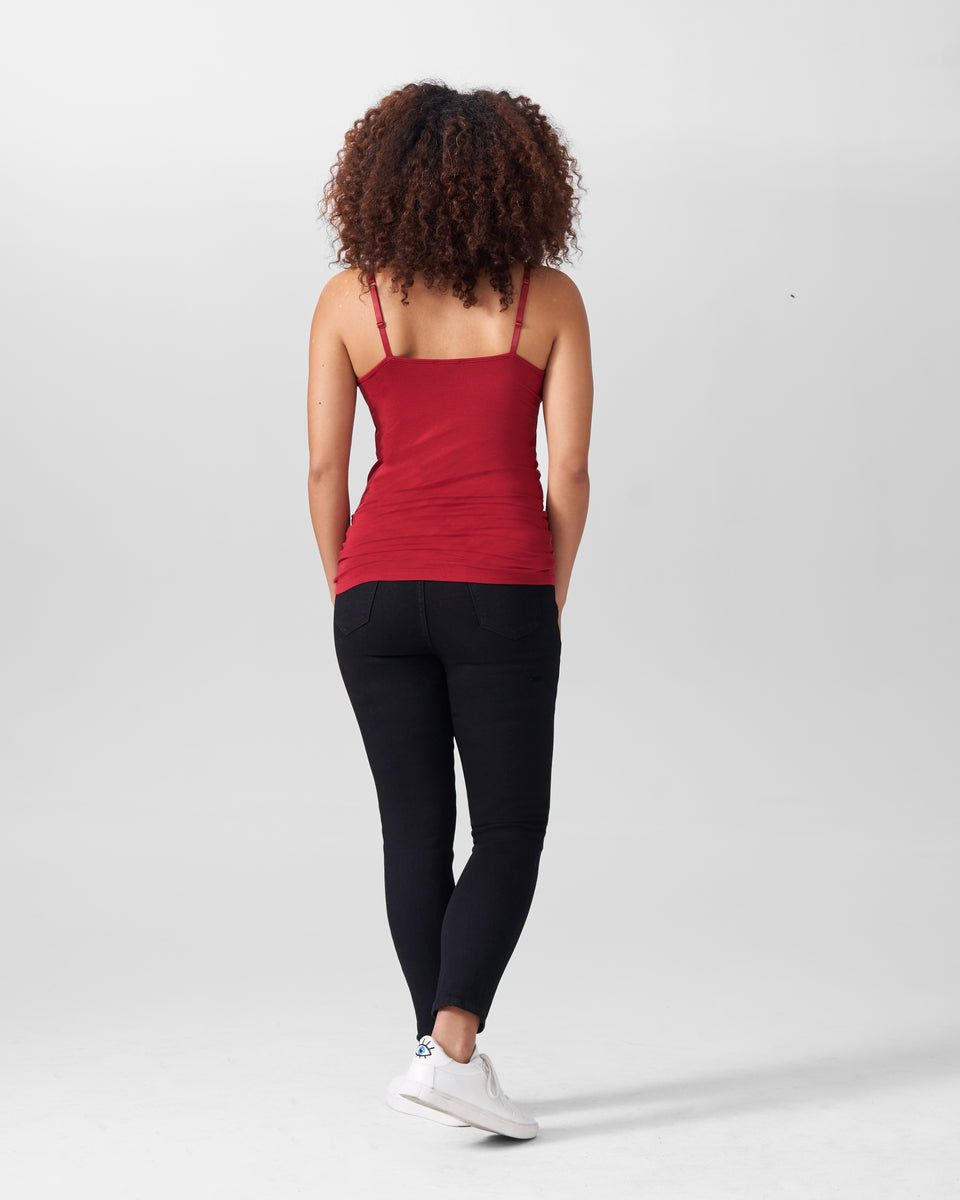 Foundation Camisole - Red Dahlia