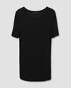 Foundation Short Sleeve Crew Neck Tee - Black Image Thumbnmail #2