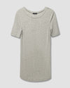 Foundation Short Sleeve Crew Neck Tee - Heather Grey Image Thumbnmail #2