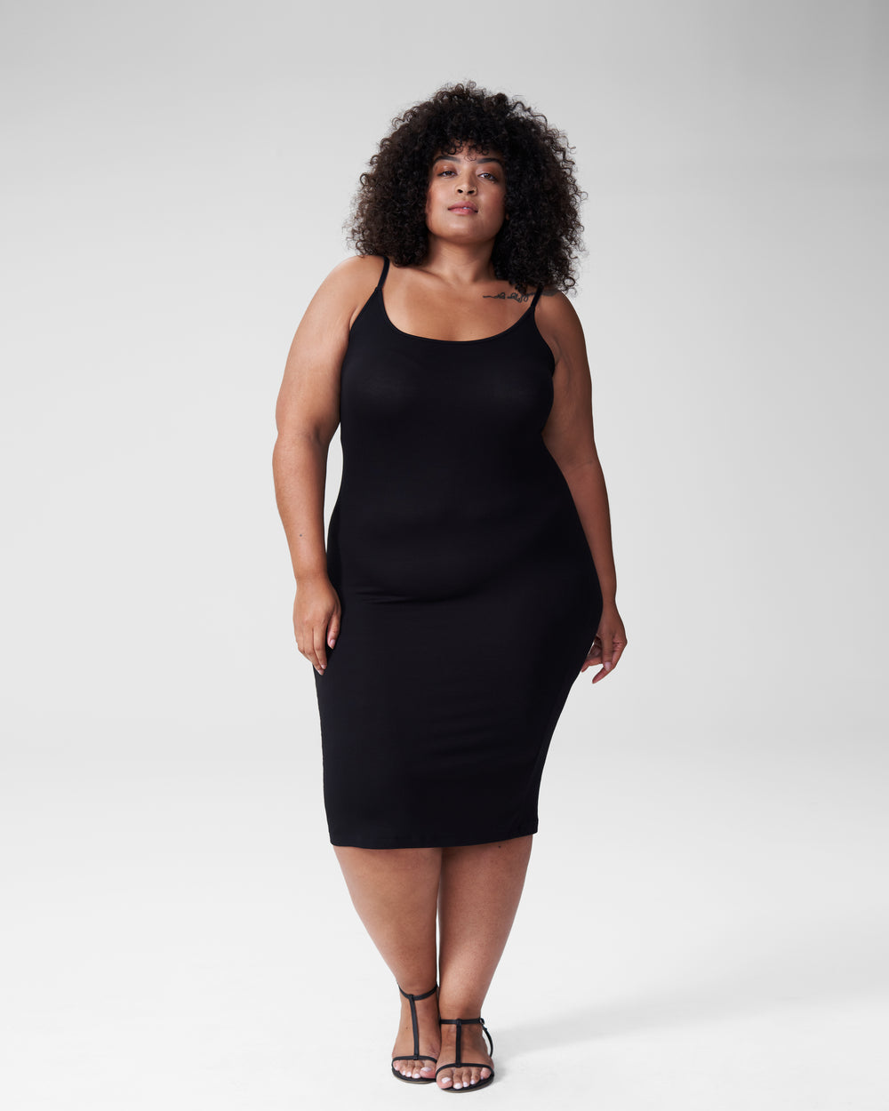 Foundation Cami Dress - Black