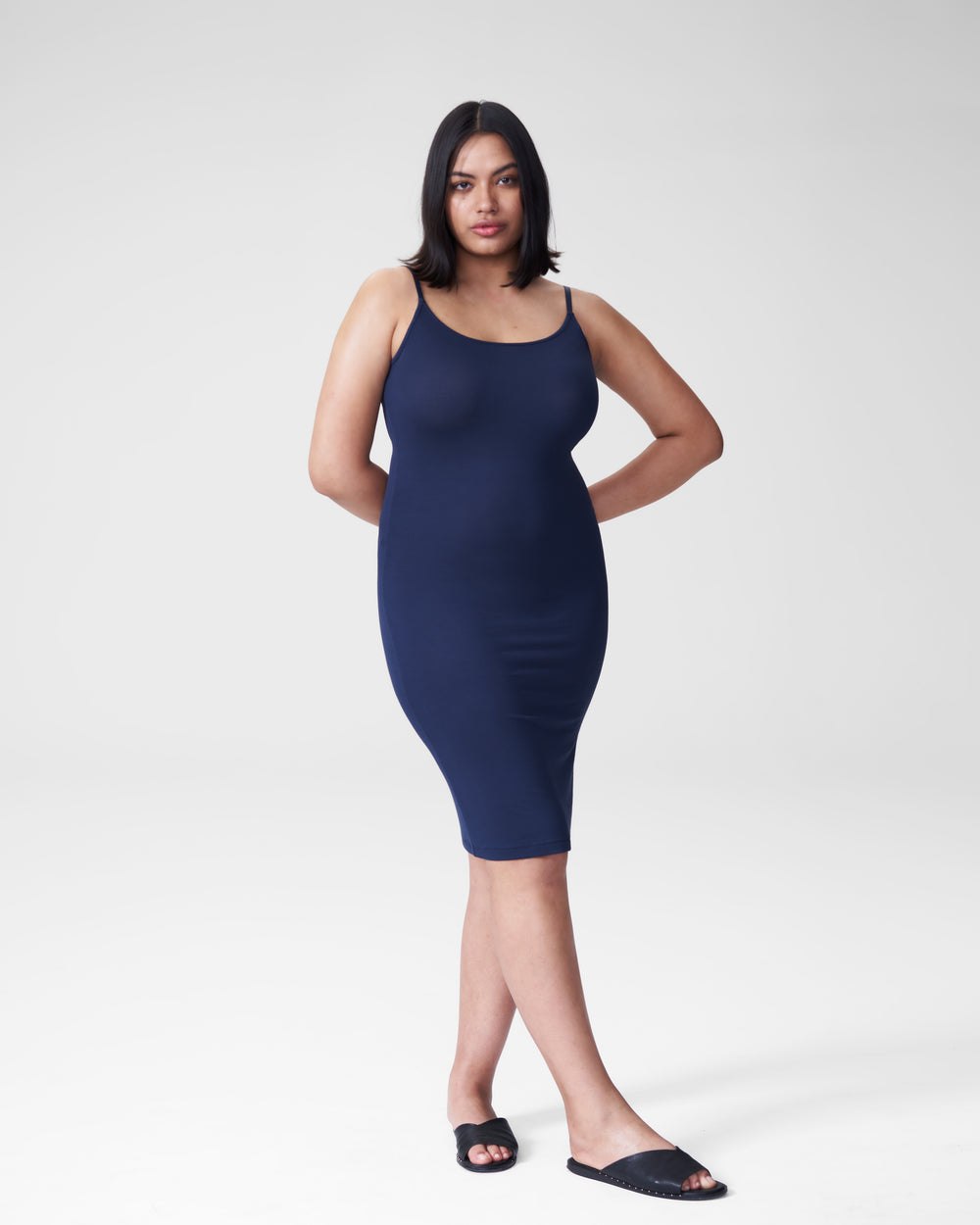 Foundation Cami Dress - Navy
