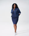 Foundation Tank Dress - Navy Image Thumbnmail #5