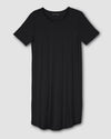 Halie T–Shirt Dress - BlackImage #2