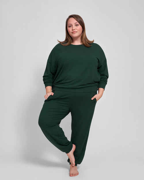 Bridget Jogger - Forest Green