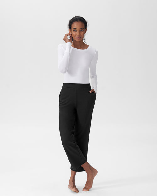 Leslie Pajama Bottom - Black