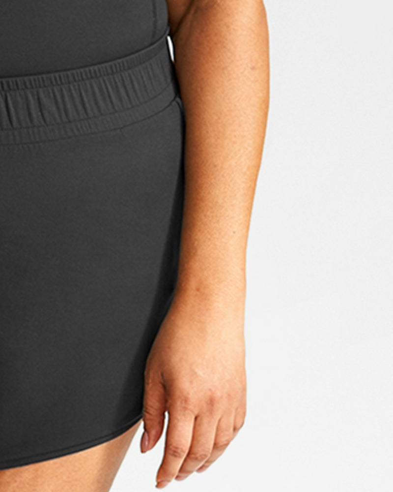 Volley Dolphin Short - Black