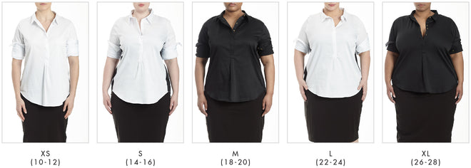 More looks for Elbe Shirt - White in Universal Standard