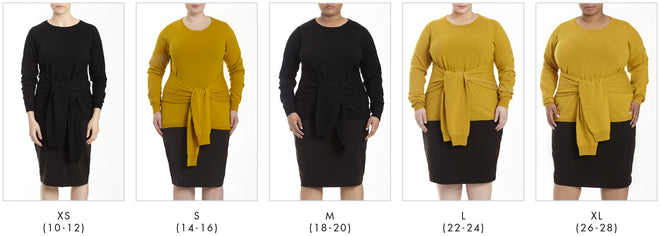 More looks for Mae Sweater - Mustard in Universal Standard