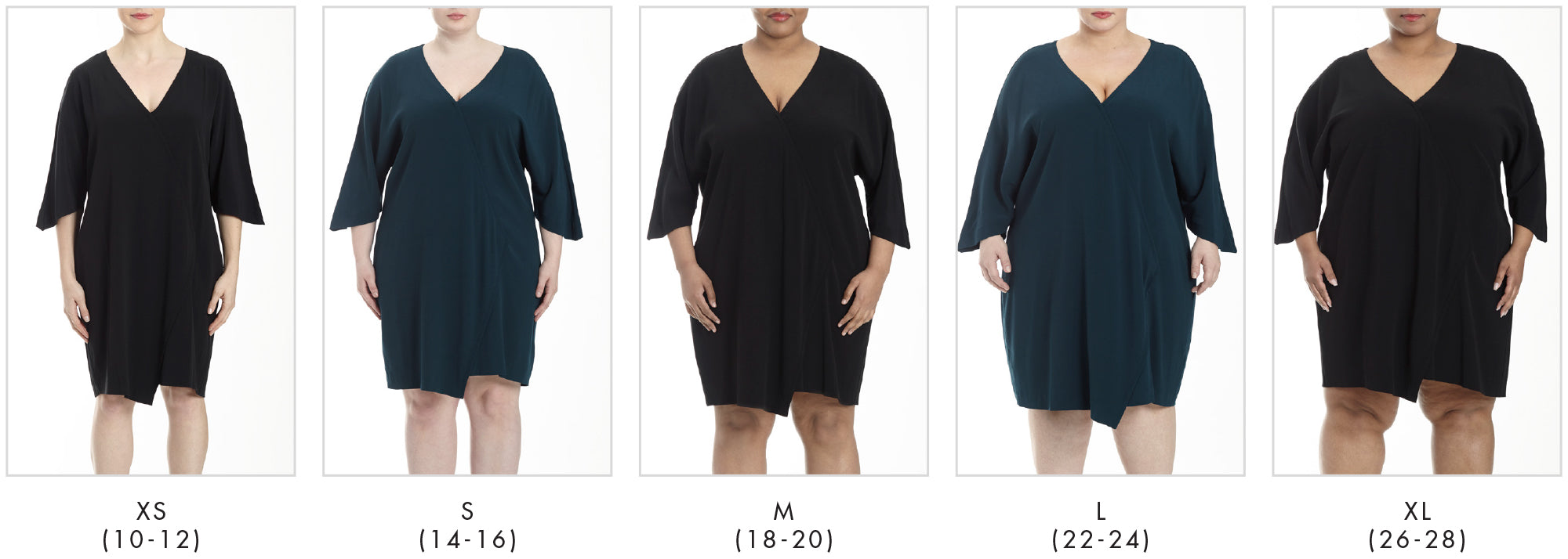 In all our plus sizes for The Katy - Black in Universal Standard