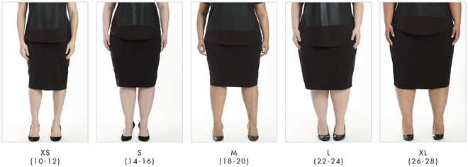More looks for Danube Jersey Skirt - Slate in Universal Standard