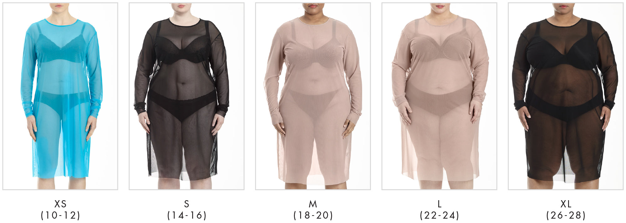 In all our plus sizes for Thames Fog Dress - Rose in Universal Standard