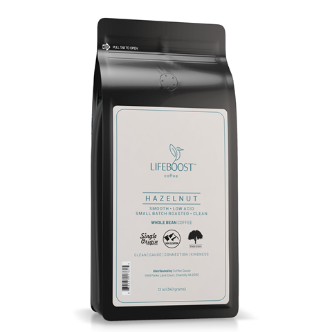 1x Hazelnut Medium Roast  Coffee 12 oz Bag
