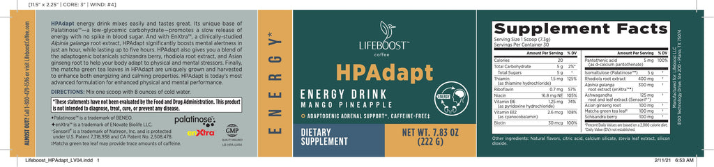 HPAdapt-1 Adrenal drink
