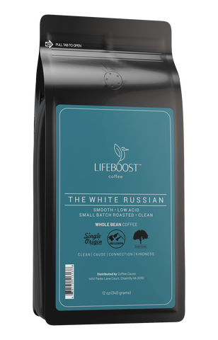 1x White Russian Coffee 12 oz Bag