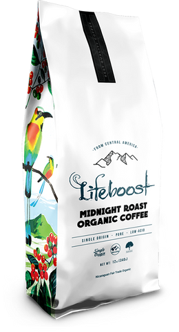 1x Midnight Coffee 12 oz Bag