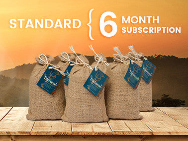 Single Origin Coffee - 6 Month Gift Subscription