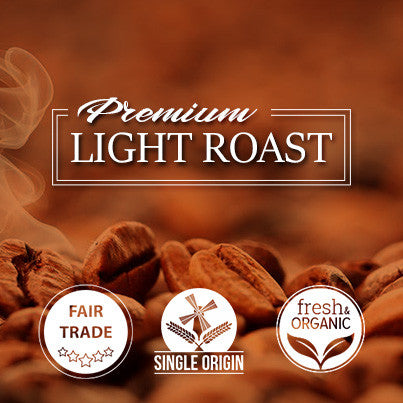 Single Origin Light Roast Beans and Ground