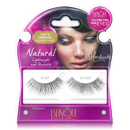 False Lashes - Fascinating #107, FRANKIE - Recommended by Professional Makeup Artists.