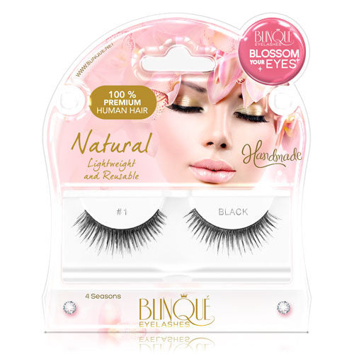 False Lashes - Blossom #1. Natural Accents
