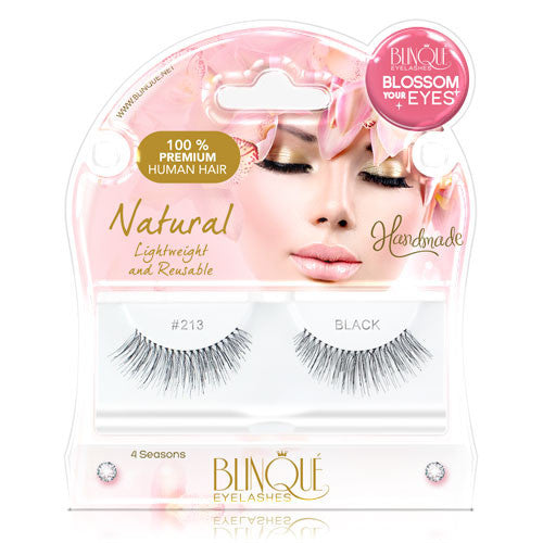 False Lashes - Blossom #213, HARLEY - Recommended by Professional Makeup Artists.