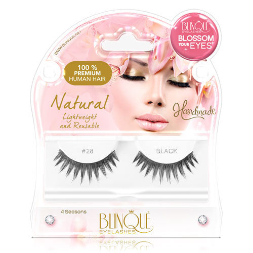 False Lashes - Blossom #28, LOTTIE - Recommended by Professional Makeup Artists.