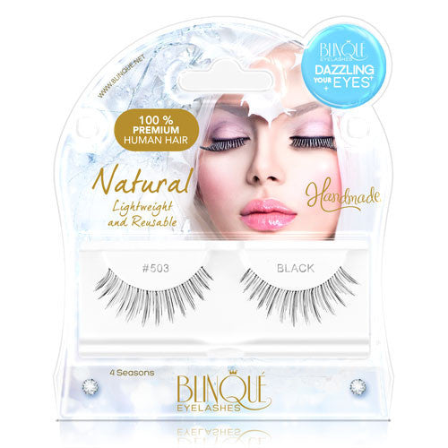 False Lashes - Dazzling #503, SWEETPEA - Recommended by Professional Makeup Artists.