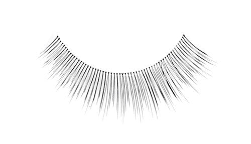 False Lashes - Professional Tapered ends lashes 507T. MIA - Recommended by Professional Makeup Artists.