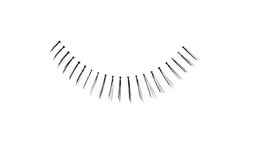 False Lashes - Professional Tapered ends lashes 75U. BAM BAM (Under lash) - Recommended by Professional Makeup Artists.
