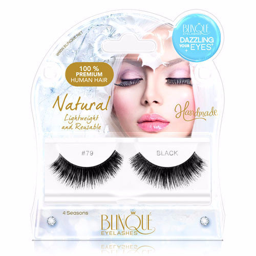 False Lashes - Dazzling #79, JEWELS - Recommended by Professional Makeup Artists.