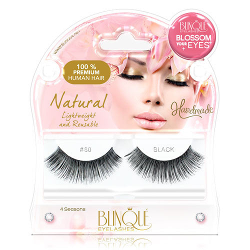 False Lashes - Blossom #80, GINGER - Recommended by Professional Makeup Artists.