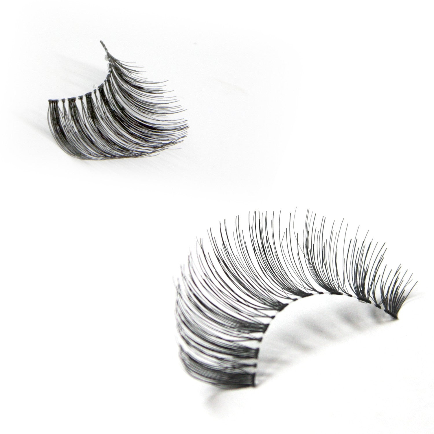 False Lashes - Pack of 3 Multipack - 43 TAPERED WISPIES - Recommended by Professional Makeup Artists.
