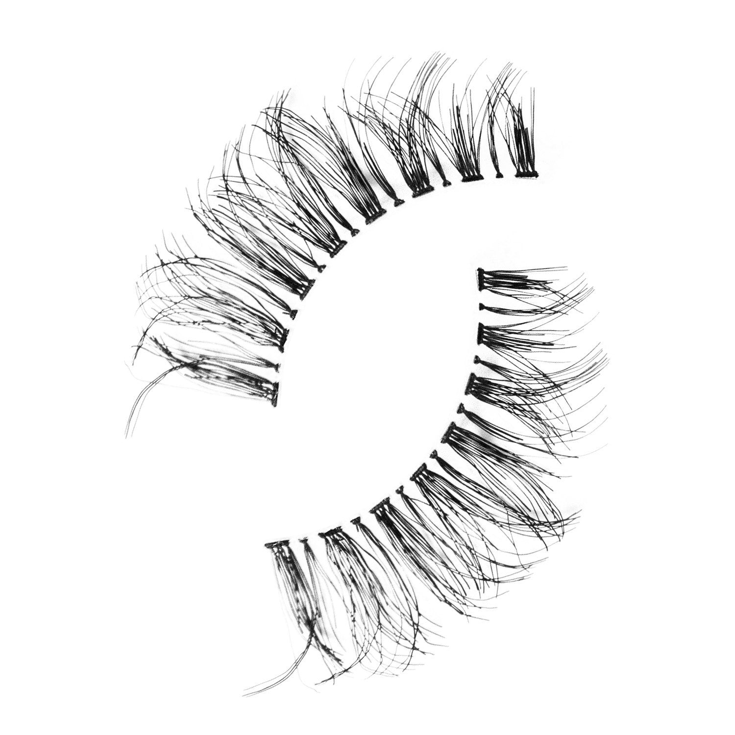 False Lashes - Pack of 3 Multipack - Demi Wispies - Recommended by Professional Makeup Artists.