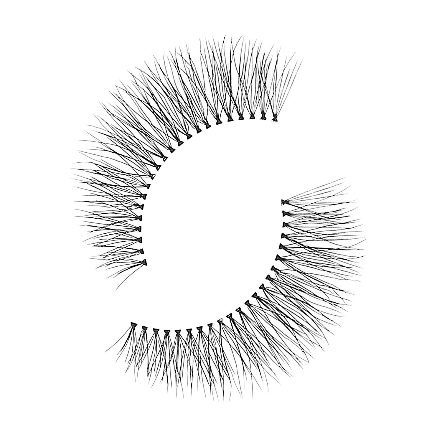 False Lashes - Sparkling #747M, BIRMINGHAM - Recommended by Professional Makeup Artists.