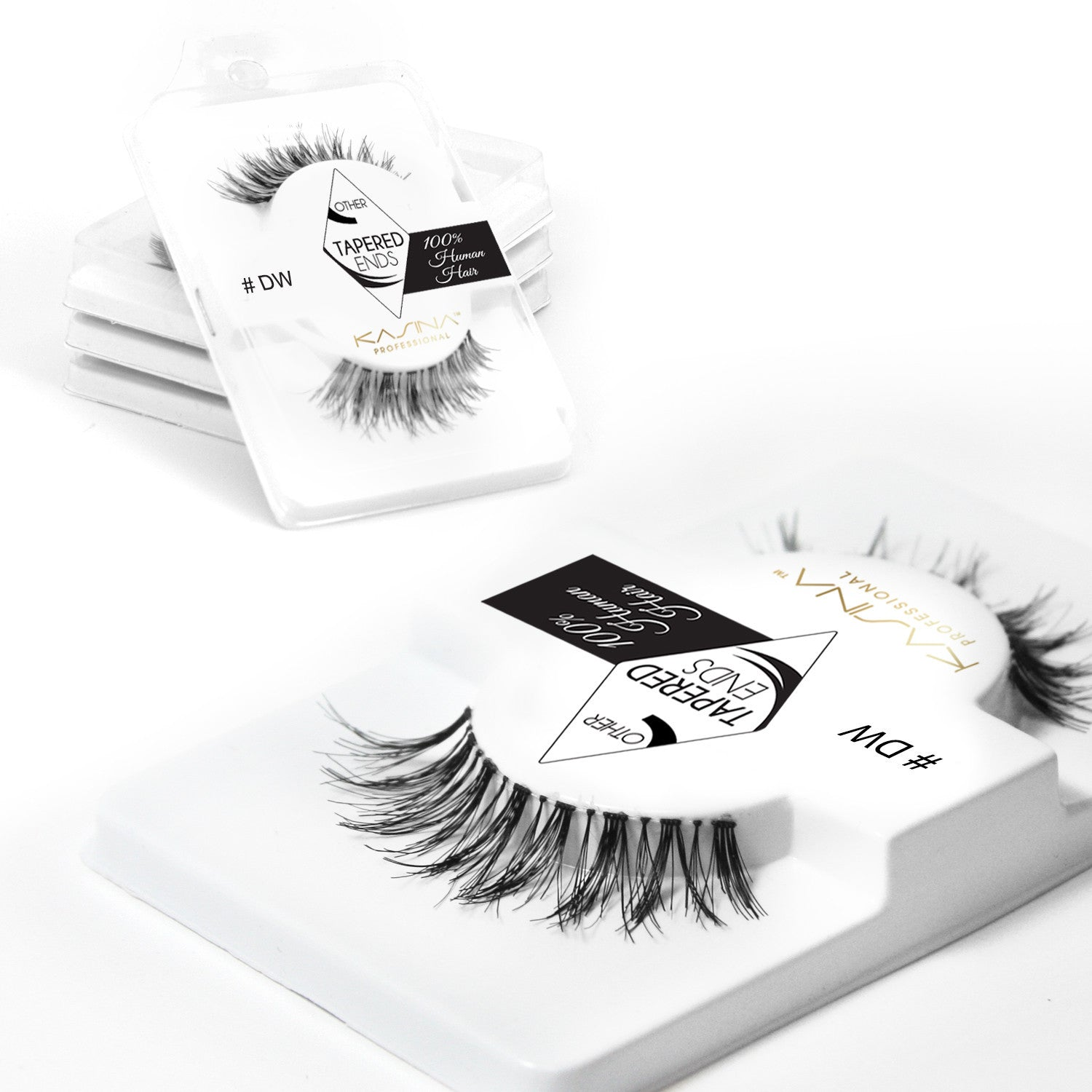 False Lashes - Pack of 6 Multipack - Demi Wispies - Recommended by Professional Makeup Artists.