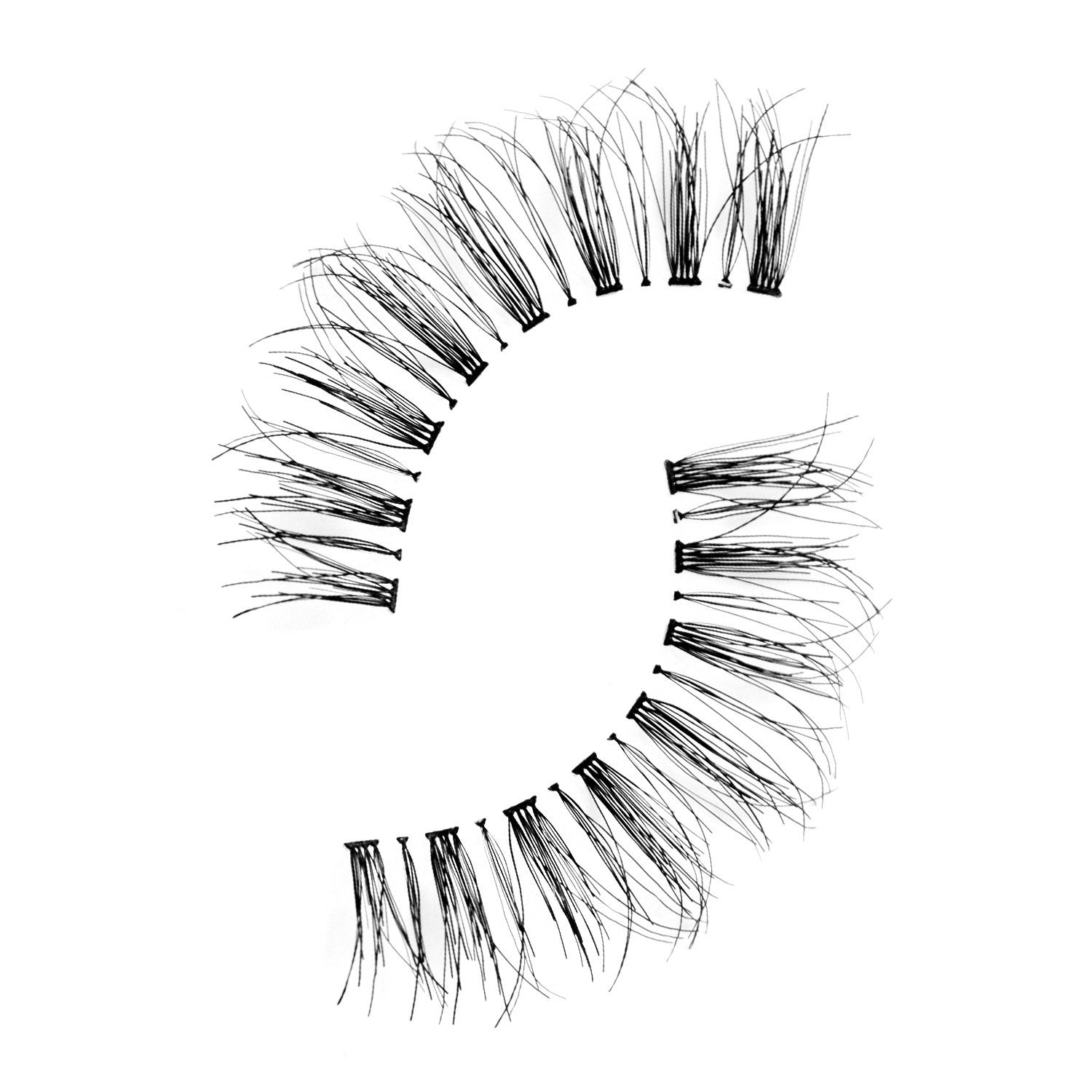 False Lashes - Pack of 3 Multipack - Wispies - Recommended by Professional Makeup Artists.