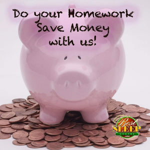 Do Your Homework, Save Money, And Sleep Better