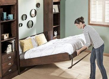 Origin and Benefits of Murphy Beds, Wall Beds or Pull-Down Beds