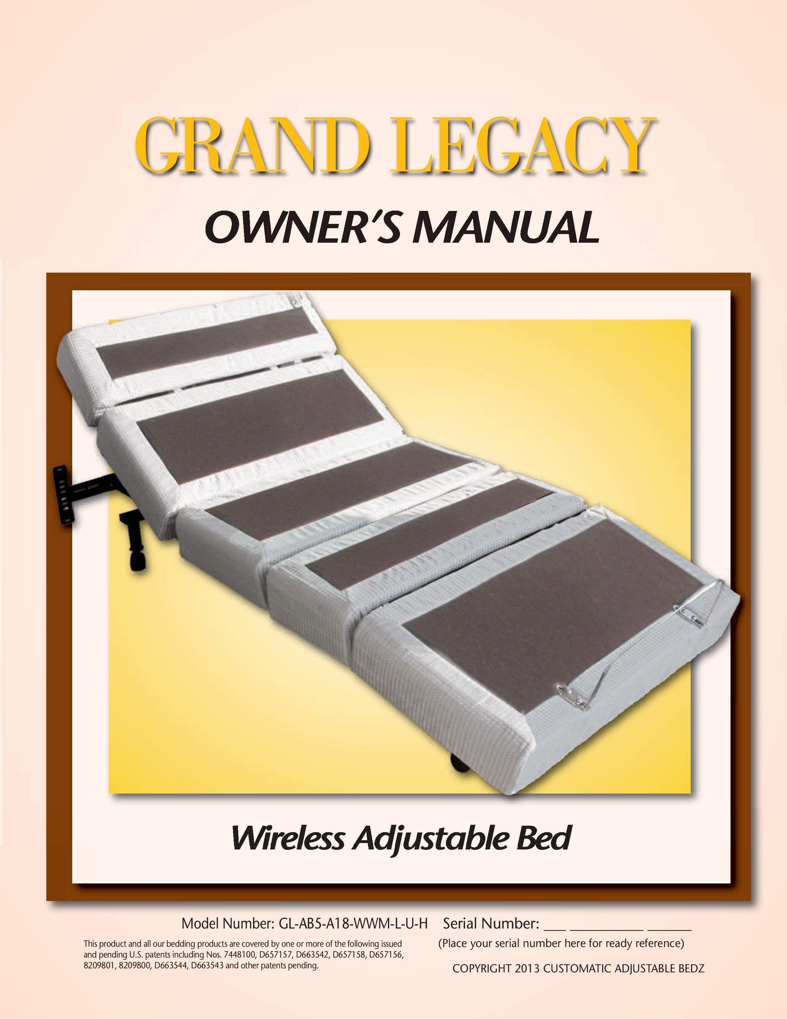 Rize Grand Legacy Owners Manual