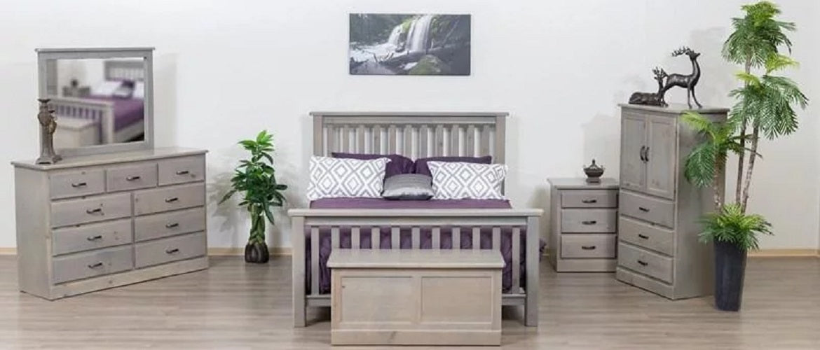Solid Wood Pine Bedroom Furniture